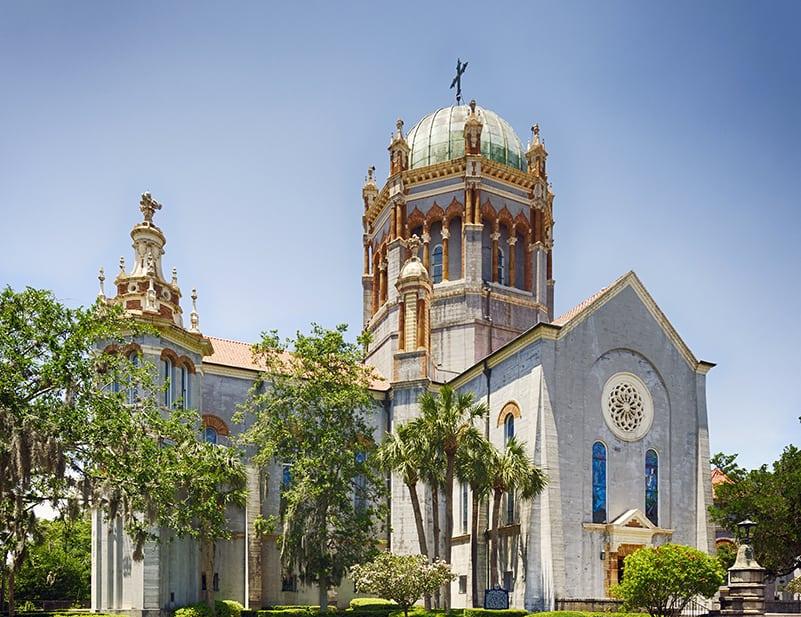 Flagler Memorial Presbyterian Church St Augustine Florida 800